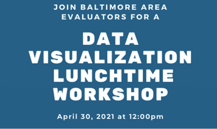 Join BAE for a data visualization lunchtime workshop.