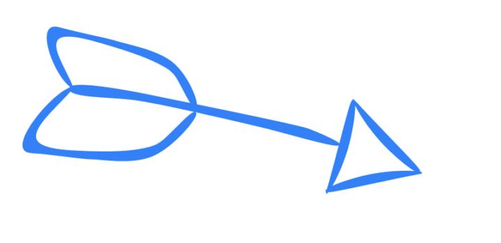 Illustration of an arrow.